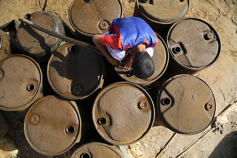 مجموعه عکس قاچاقچیان سوخت از صادق سوری